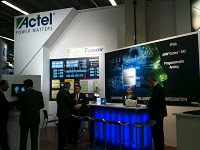 Actel Smart Fusion at Embedded World