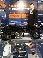 Parasoft showing Keil uLink at Embedded World