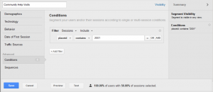 Google Analytics PlaceID in Segment